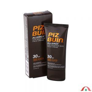 Crema de fata cu protectie solara SPF 30 pentru piele sensibila 50 ml