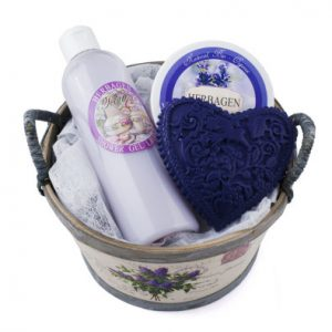 Set Cadou Cos Lavanda HERBAGEN - ingrediente de origine naturala