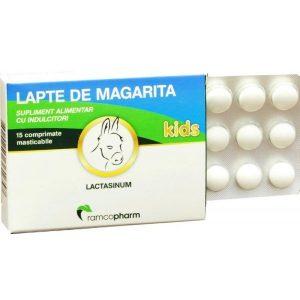 Lapte de magarita kids 15 capsule Plasmon - contine omega 3 si 6