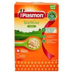 Paste Stelline Stelute 6 luni 340 gr Plasmon - asigura cresterea echilibrata.