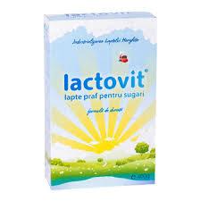 Lactovit Lapte praf pentru sugari 400g Terrafarm - este un aliment complet