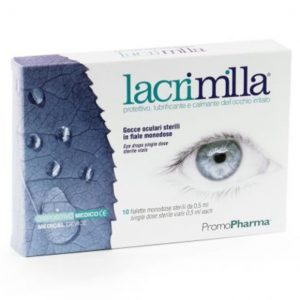 Lacrimilla Solutie pentru ochi Abo Pharma 10 flacoane cu 0,5 ml