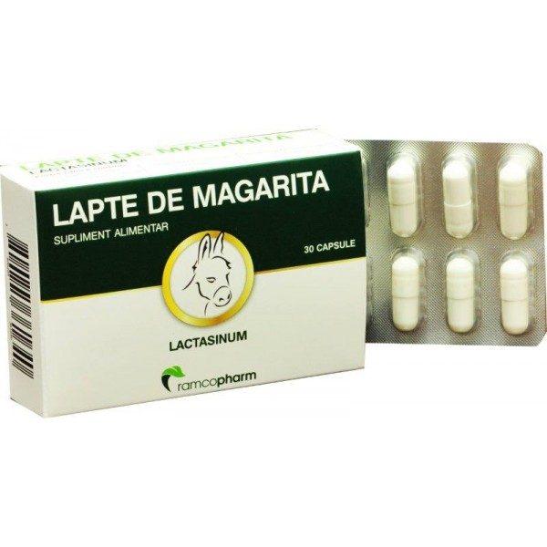 Lapte de magarita pentru adulti 30 cps Plasmon - Mineralizarea oaselor