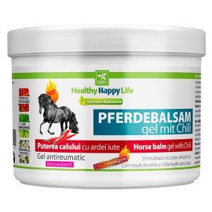 Gel antireumatic Puterea Calului cu ardei iute 500 ml - calmarea durerilor