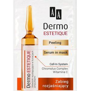 O Tratament pentru depigmentare AA Dermo Estetique -hipoalergenică.