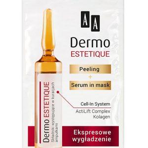 Tratament pentru fermitate AA Dermo Estetique-pielea predispusă la iritații