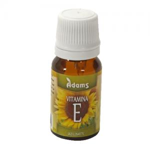 Ulei de Vitamina E 10 ml Adams Vision - antioxidant si protector celular