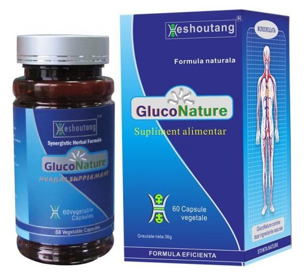 Gluconature Plus Tratare Diabet 1 60cps DARMAPLANT