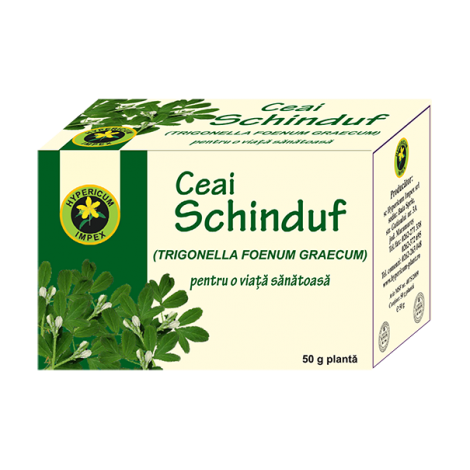 Ceai Schinduf 50g Hypericum - hipocolesterolemiant, hipoglicemiant,