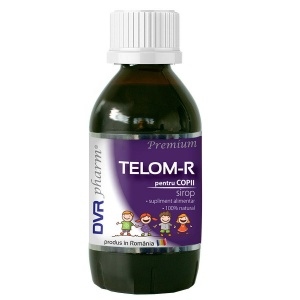 Telom R Sirop pentru Copii 150ml DVR PHARM - imunitate, sistem nervos