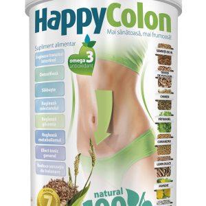 Detoxifiant HappyColon Supliment Natural 480 g - Detoxifiant .Slabeşte