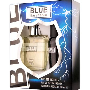 Set Cadou Barbati Blue The Change 100 ml si 100 ml - Lemnos, aromatic.