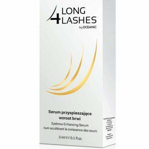 Ser pentru cresterea sprancenelor 4 Long Lashes 3ml-sprancene puternice