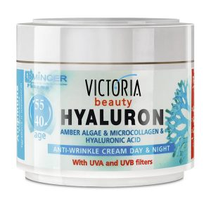 Crema de Fata Antirid Hyaluron 40-55 ani 50ml - revitalizează pielea,