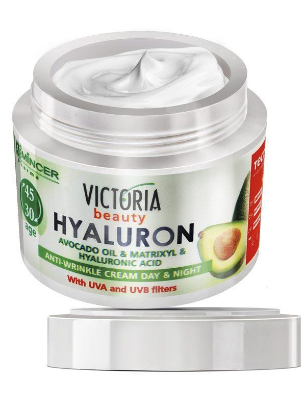 Crema de Fata Antirid Hyaluron 30-45 ani 50 ml - regenereaza pielea