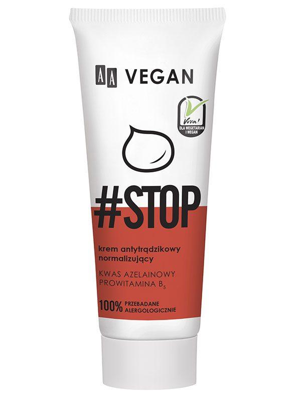 Crema Tratament Antiacneic AA Vegan Stop 40 ml - micsoreaza porii.