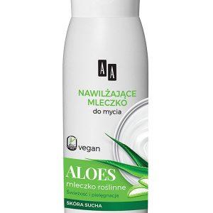 Gei de Dus Cremos Hidratant cu Aloe Vera AA Vegan 400 ml - hidratant