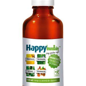Imunitate copii HappyImunoBaby 200ml - mărirea vitalității organismului