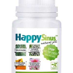 Nas Desfundat HappySinus 30 cpr - decongestionarea căilor respiratorii.