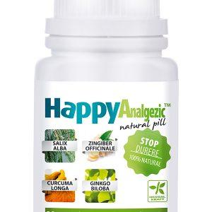 Stop Durere HappyAnalgezic 30 cpr - analgezic și antiinflamator.