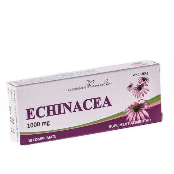 Echinaceea 1000 mg 30 comprimate - stimulant al sistemului imunitar,