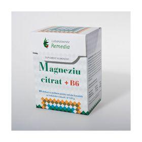 Magneziu Citrat 150mg cu B6 40 stick -sanatatea sistemului nervos Descriptor