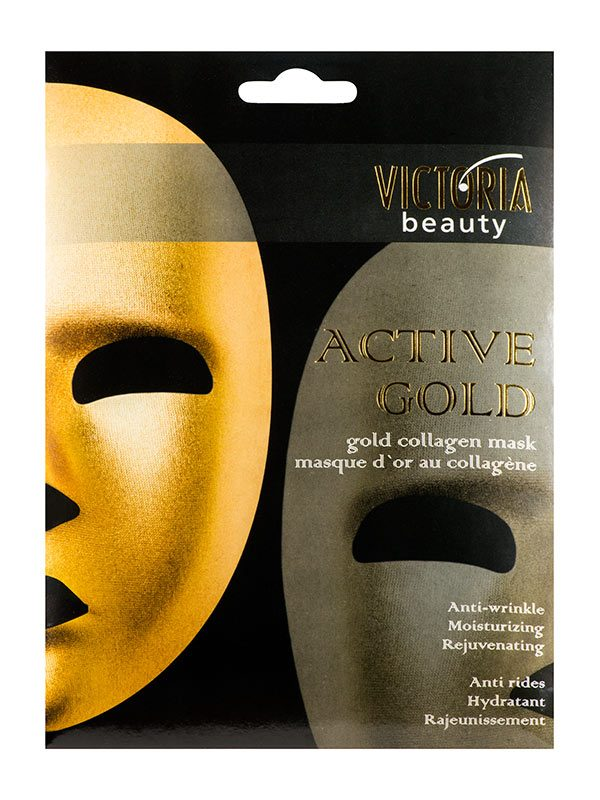 Masca cu Colagen pentru Fata Active Gold 250 ml - diminuiaza ridurile