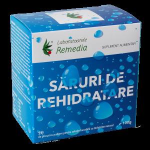 aruri de rehidratare 20 plicuri Remedia - remediu impotriva deshidratarii.